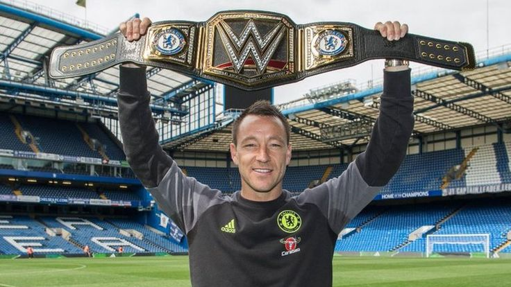Chelsea's John Terry given WWE title by Triple H to celebrate Premier League success www.ae6688.com