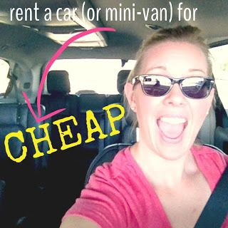 The How To Mom: how to get a smokin deal on a rental car. Tips for how to get the best rate when you have to rent a car.