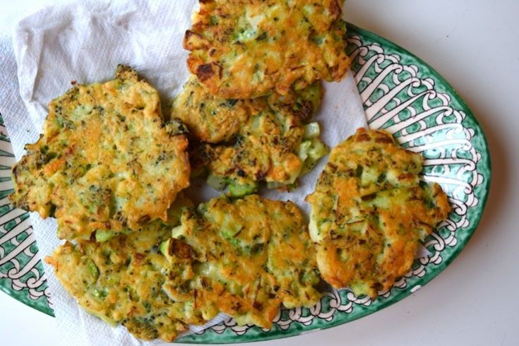 Broccoli-kaaskoekjes