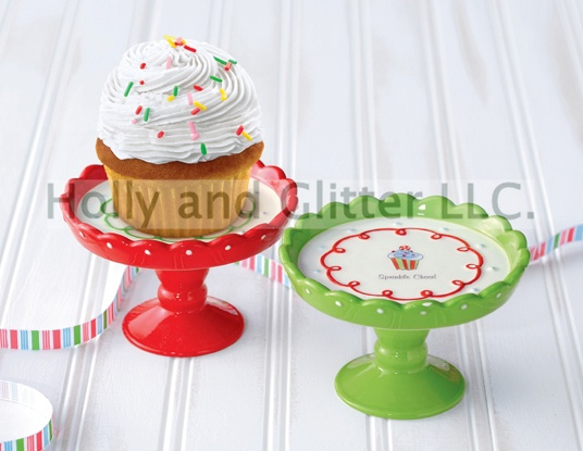 Christmas cupcake stands  sc 1 st  Pinterest & 89 best Cupcake Stands images on Pinterest | Diy cupcake stand ...