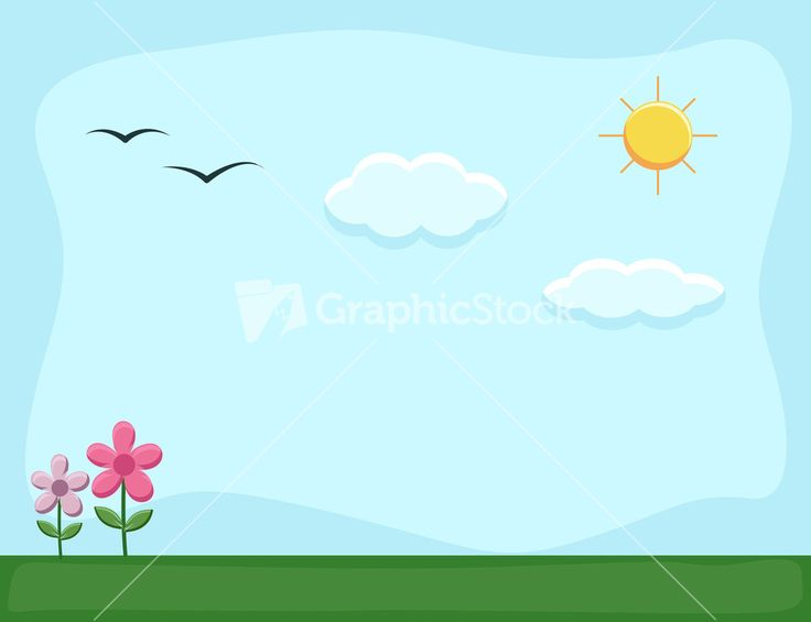 Cartoon Background Road And City Stock Image