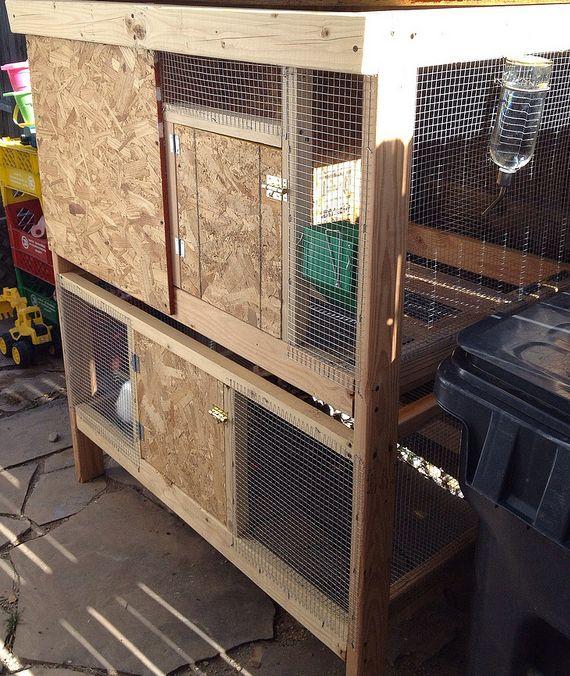 building a rabbit hutch instructions