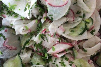rettichsalat aus sterreich salat geht immer salat rettich und salat rezepte. Black Bedroom Furniture Sets. Home Design Ideas