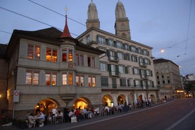 Zunfthaus zur Zimmerleuten am Limmatquai, Zurich
