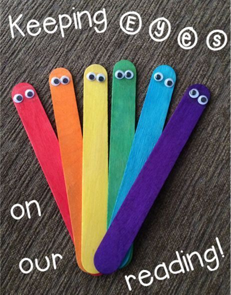 Terri's Teaching Treasures: A fun way for students to track while reading