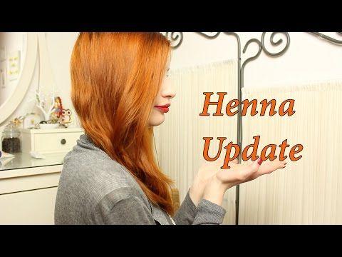 Henna Update *Khadi Henna Rot* - YouTube