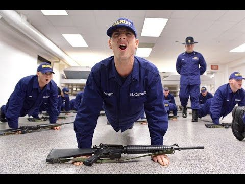 USCG Coast Guard Boot Camp - Welcome to USCG Training Center Cape May - YouTube