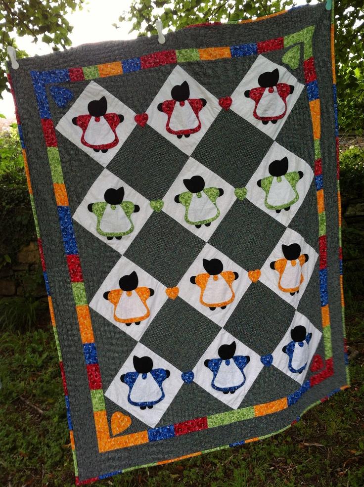 1000 Images About Sunbonnet Sue Quilts On Pinterest Sun
