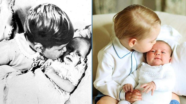 Royals: Kuss-Foto von George und Charlotte ähnelt Charles-Foto http://www.bild.de/unterhaltung/royals/prinz-george/wie-der-opa-so-der-enkel-41261604.bild.html