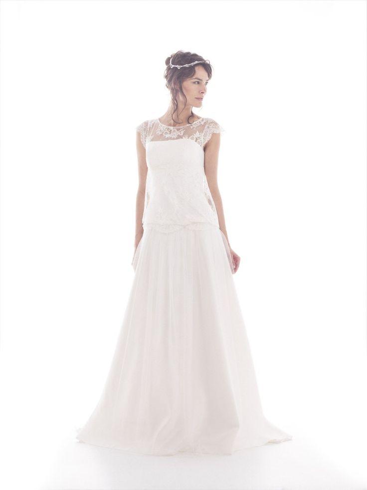 mariée, bride, mariage, wedding, robe mariée, wedding dress, white, blanc, lambert création robe de mariée 2014