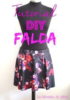 los tutoriales de artbril: DIY - tutorial como hacer una falda sencilla
