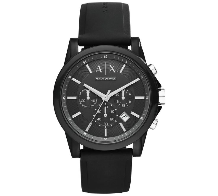 Buy Armani Exchange AX1326 Black Chronograph Watch at Argos.co.uk - Your Online Shop for Men's watches, Watches, Jewellery and watches.
