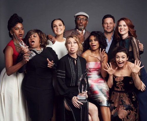 Grey's Anatomy Cast 2015