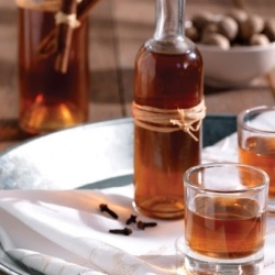 Greek home made liqueur with mandarines - Recipe in English