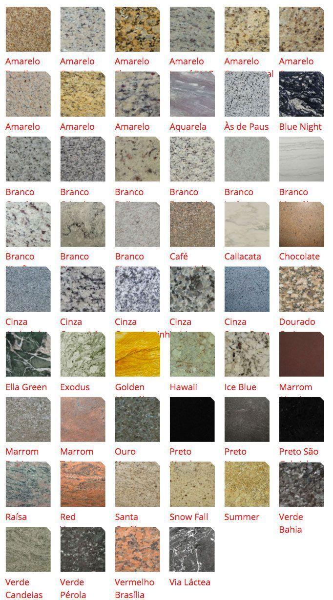 25 melhores ideias de tipos de granito no pinterest for Tipos de granitos
