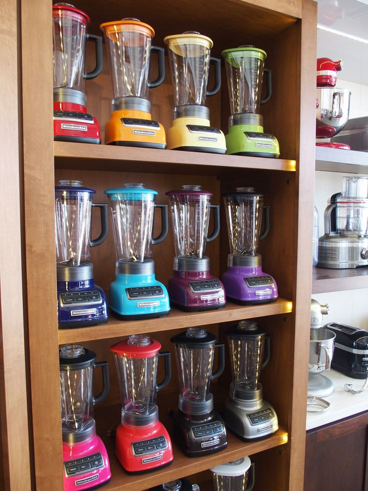 Diamond Blenders At The 2014 Sobewff Kitchenaid