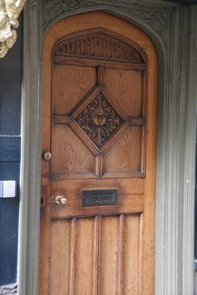 The door in Oxford that inspired CS Lewis to create the character of Aslan in his book \