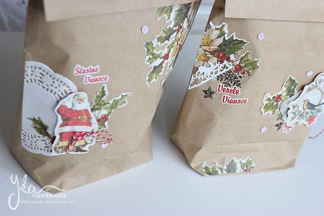 Yka handmade: Vianočné balenie