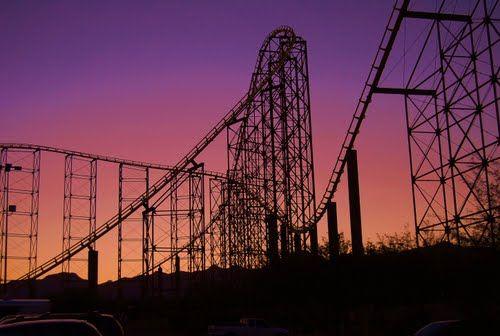Desperado Roller Coaster, Buffalo Bills Casino, Primm, NV