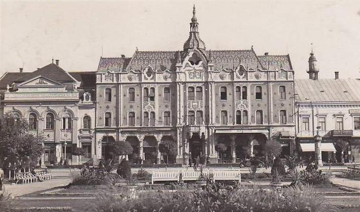 Satu Mare - Hotel Dacia - interbelica