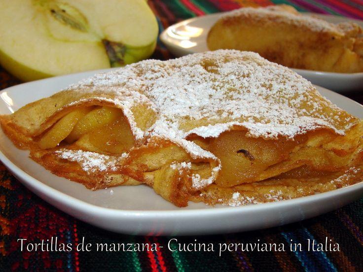 Cucina peruviana in Italia: Tortillas de manzana