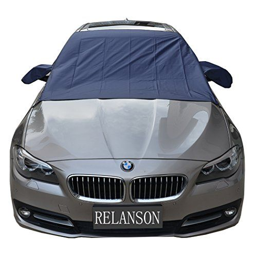 "Relanson Premium Car Snow Cover - Windshield Snow Cover for Automobiles - Design Protects Windshield and Wipers from Snow, Ice, and Frost Build Up(62""x56""). For product info go to:  https://www.caraccessoriesonlinemarket.com/relanson-premium-car-snow-cover-windshield-snow-cover-for-automobiles-design-protects-windshield-and-wipers-from-snow-ice-and-frost-build-up62x56/"