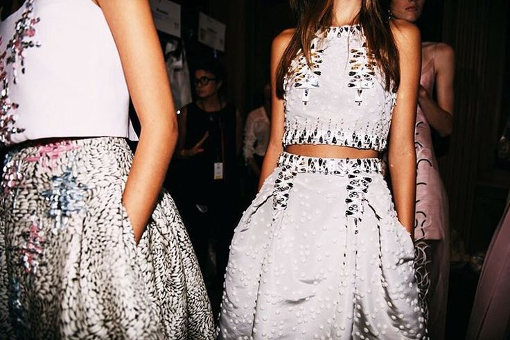 Backstage at Carolina Herrera SS16 ready-to-wear collection http://www.londonfittingrooms.com/le-boudoir/best-fashion-instagram-roundup-september-2015
