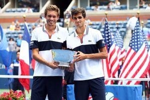 Nicholas Mahut & Pierre-Hugues Herbert #USOpen2015 #Champions