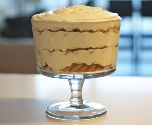 Magnolia Bakery's Banana Pudding.  So easy peasy!  I'll make this for my next potluck party.