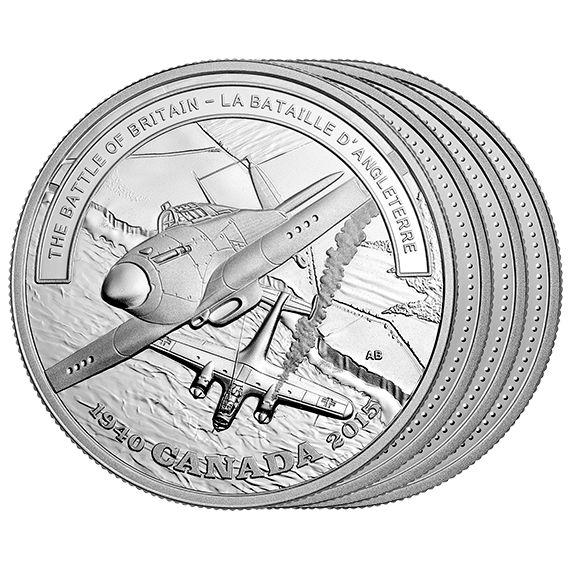 Second World War Battlefront - 1 oz. Fine Silver 10-Coin Subscription (2015)