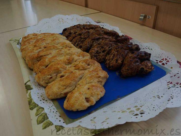 Espigas de pan con harina integral - http://www.recetasdethermomix.es/masas/espigas-dulces-con-harina-integral.html