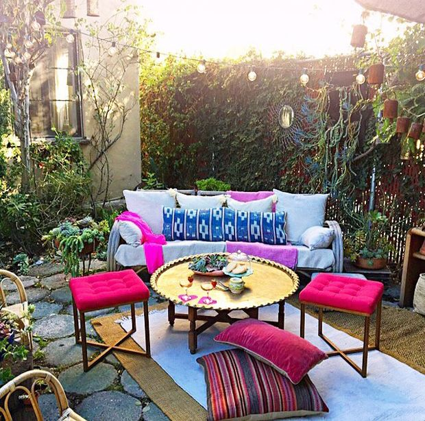 723 Best Bohemian Gardens & Patios Images On Pinterest