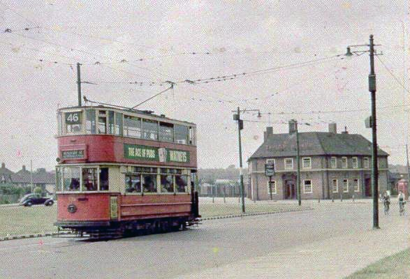 eltham green London Trams, 1950s - Retronaut