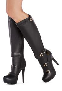 @justfabonline sexy edgy stiletto boots