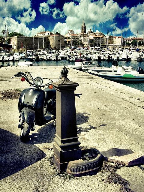 Niet vergeten te fotograferen vanuit dit punt. Prachtig Alghero, Sardinia