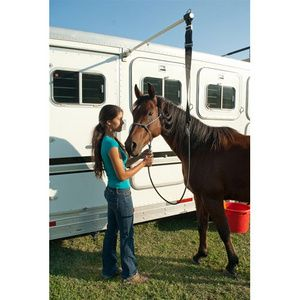 Horse Trailer Accessories - Easy Care - Complete Hi-Tie Trailer Tie System - The Stagecoach West