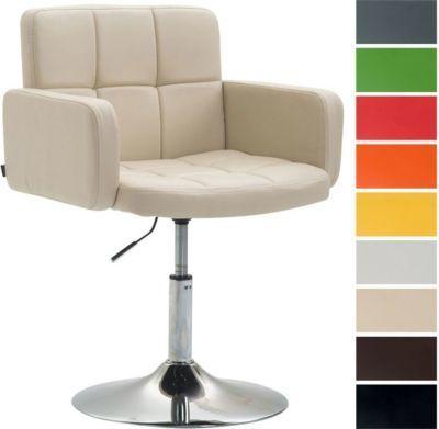 Design Lounge Sessel LOS ANGELES Mit Kunstleder Bezug, Lounger Drehbar /  Höhenverstellbar, Esszimmerstuhl Mit Trompetenfuß In Chromoptik Jetzt  Bestellen ...