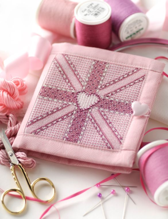 Brit-tastic stitches - Avaible in Cross Stitcher Collection 198
