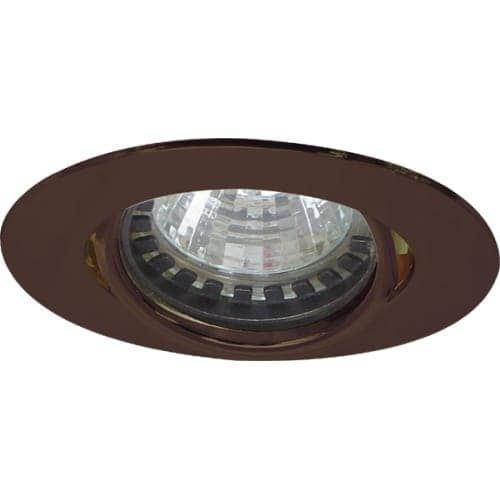 Elco E222 Mini MR11 Downlight with Diecast Aluminum Gimbal Ring (Silver)