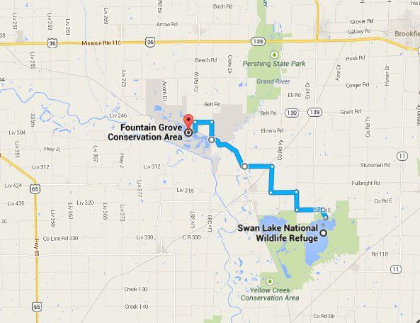 Missouri travel directions