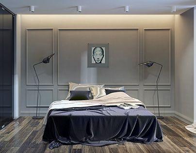 hotel room by Z.RIVER.STUDIO