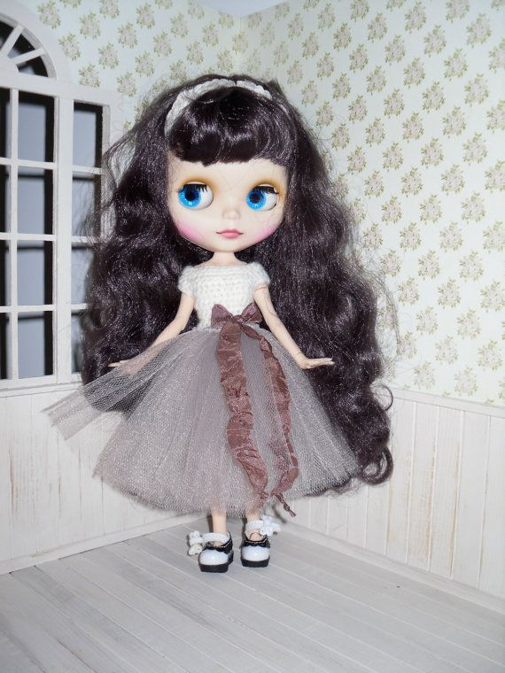 Tutu dress for Blythe by LittleGiftCove on Etsy