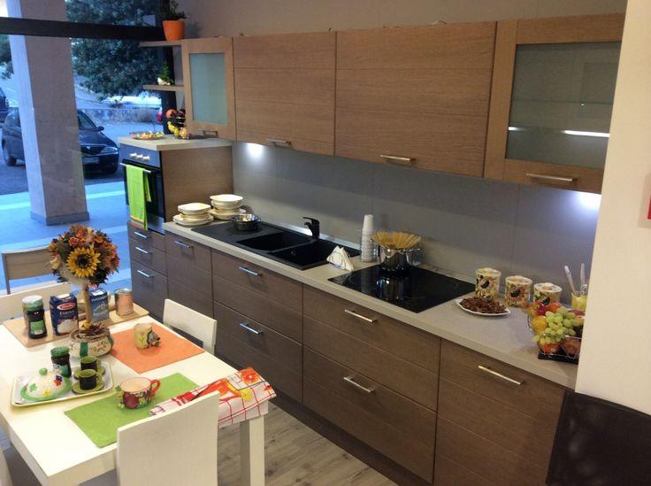 #Cucina #Scavolini modello #Open su www.outletmobili-italia.it