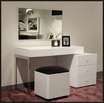 modern vanity table - Google-Suche                                                                                                                                                                                 More