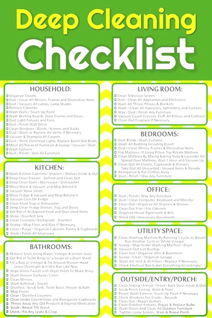 Pin By Dexxr17sz On Cleaning In 2020 Deep Cleaning Checklist Deep Cleaning Cleaning Checklist