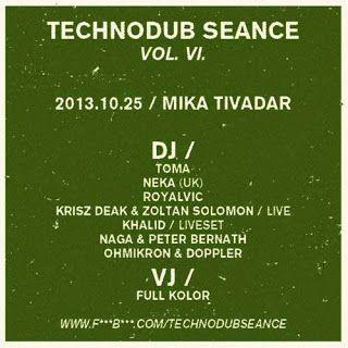 TECHNODUB SEANCE VI. // MIKA TIVADAR + Khalid [a.k.a Aphiks] INTERJÚ | Budapesti éjszaka