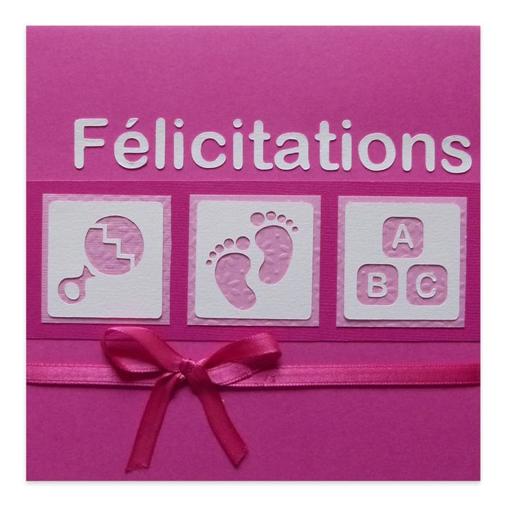 31 best Cartes Félicitations Naissance images on Pinterest