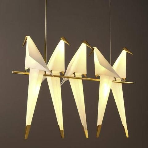 Bird LED Chandelier   Check out our Prometheus Collection of designer lighting fixtures.  https://atisconcepts.com