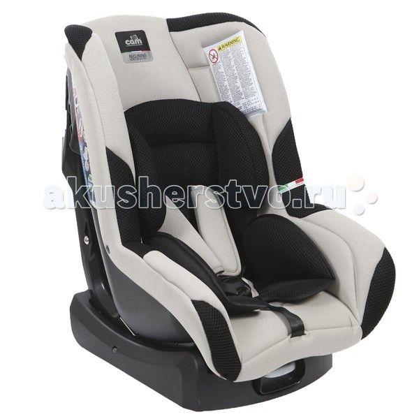 Автокресло CAM Gara  Автокресло CAM Gara имеет глубокое анатомической формы сидение, что позволяет ребенку относительно долгое время находиться в кресле и не испытывать какого-либо дискомфорта. Соответствует Европейскому стандарту безопасности ECE R 44/03 и R 44/04.  Особенности:  5 позиций наклона  дополнительный вкладыш для малышей  простой механизм регулировки внутренних ремней  5-ти точечные ремни безопасности с мягкими плечевыми накладками  съемные чехлы можно стирать при температуре 30…