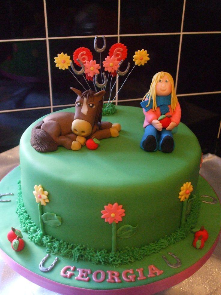 Horse Birthday Cakes for Girls   Horse cake